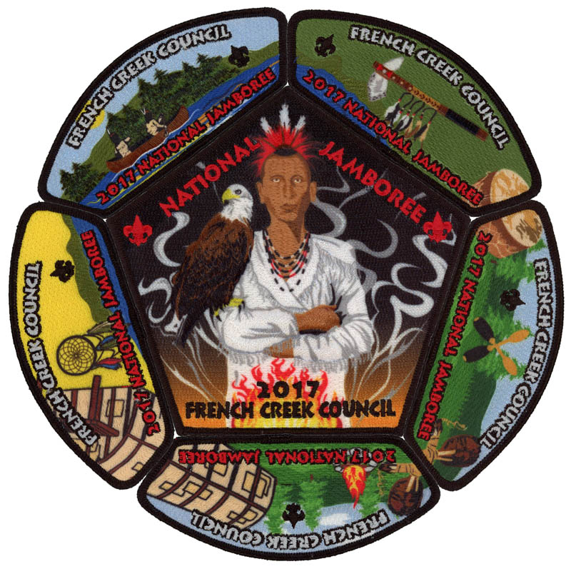 French Creek Council #532 Patches - PatchScan